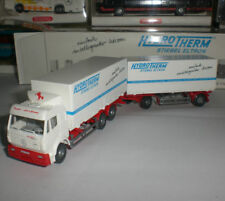 WIKING SEMI-REMORQUE SPECIAL EDITION CAMION MERCEDES TRUCKS HYDRO THERM 1:87