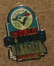 D12 PIN TIE TAC BUTTERFLY CLASP SPORT BASEBALL TEAM JAYS WORLD CHAMPIONS 1993
