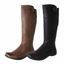 New Planet Shoes Women's Soft Leather Knee High Tall Boots Spire Cheap