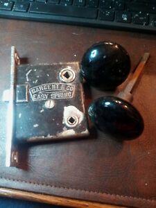 Antique Sargent Easy Spring Door Lock w/o Key Patented June 28/1881