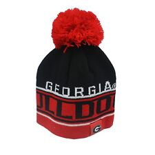 6232b0493a0ea Georgia Bulldogs NCAA Youth Boys (8-20) OSFM Pom Knit Winter Beanie Hat