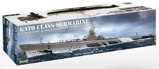 Revell Monogram 396 WWII USS Gato Class Submarine plastic model kit 1/72