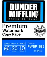 Dunder Mifflin, Watermark Boner Paper 20 Sheets Product Recall- The Office