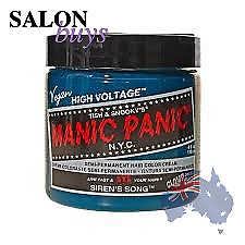 2 X Hair Dye Manic Panic Classic Cream Sirens Song Gloves