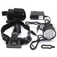 20000Lm 7x LED XM-L2 T6  Front Head Lights Lamp Bicycle Bike Cycling Headlamp