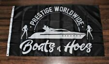 New Prestige Worldwide Boats n Hoes Banner Flag Step Brothers Movie Catalina