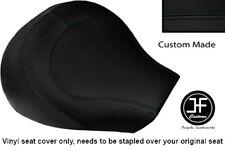 BLACK VINYL CUSTOM FITS SUZUKI INTRUDER VL 1500 98-04 FRONT SEAT COVER ONLY