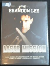 Laser Mission (DVD, 1990) Brandon Lee   LN