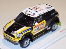 1/43 True Scale Models TSM Mini Countryman #305 Dakar Rally 2nd Place TSM144343