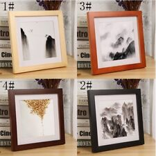 "Multi-size Room Decor Wooden Picture Photo Wall Frame Square 5""/6""/7""/8""/10"" Hot"