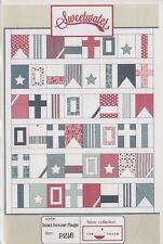 Boat House Flags - pieced quilt PATTERN for sailors - Sweetwater