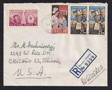 UKRAINE 1963 Underground post, Cover
