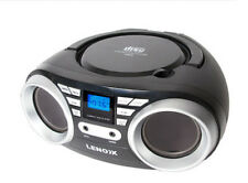 Lenoxx Electronics CD813 Audio CD Player - Black