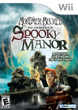Mortimer Beckett and the Secrets of Spooky Manor WII New Nintendo Wii