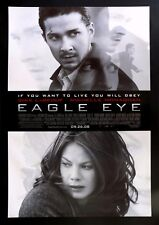 EAGLE EYE * CineMasterpieces 1SH ORIGINAL DOUBLE SIDED MOVIE POSTER NM-M