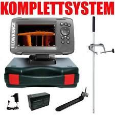 Lowrance Echolot Plotter Portabel Master Hook2 5 TripleShot CHIRP Combo GPS