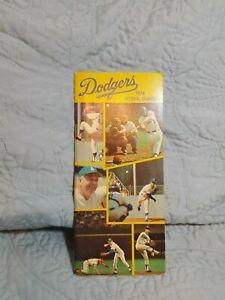 Los Angelos Dodgers 1974 Media Guide: Walt Alston on cover