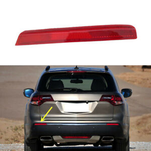 1PC Reflector Red Housing Left Side Rear Fog Bumper Lamp For ACURA MDX 2010-2011