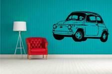 sticker per muro 500 fiat 50x50 adesivo4you