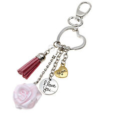 CN_ LX_ Mom I Love You Charm Pendant Keyring Key Chain Mother's Day Birthday _GG