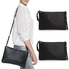 New Women Handbag Shoulder Bags Tote Purse Fashion PU Black Messenger Hobo Bag