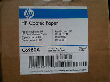 "Papel para plotter Coated Paper 36"" HP C6980A"