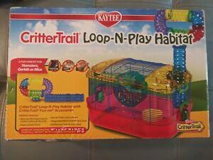 Kaytee CritterTrail Loop-N-Play Habitat