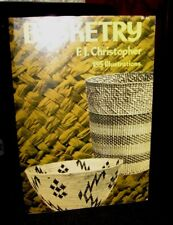 Basketry By F.J. Christopher, Ilustrated Throughout Sc 1952 Oop Intermediate
