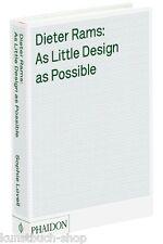 Manuel l'œuvre de Dieter rams as little design at possible marron, meubles Uva.