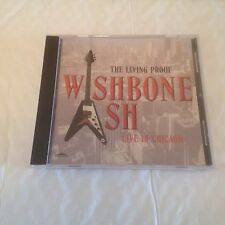 Wishbone Ash - Living Proof/ Live In Chicago CD (1998) Prog Rock Blues