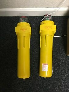 """HPC High Efficiency compressed air filter  Model AA0145G 1"""" ports 307 cfm"""