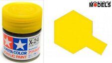 Acrylic Paint - Colore Acrilico Vernice 10ml X-24 X24 CLEAR YELLOW 81524 Tamiya