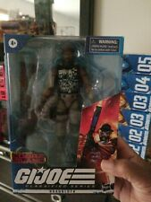 Gi joe classified Roadblock COBRA ISLAND Target Exclusive