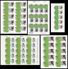 2002 Campioni di calcio - F+D+Ra+Br+Rou - minifogli