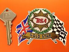 BSA helmet/motorcycle sticker Gold Star sticker also A7 650Lightning Rocket