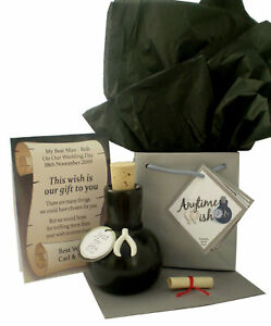 FATHER'S DAY WISHES Personalised Gift & Card For A Dad