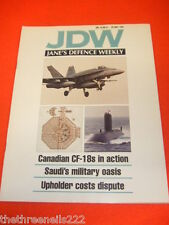 JANES DEFENCE WEEKLY - CANADIAN CF-18 IN ACTION - MAY 25 1991 VOL 15 # 21