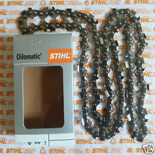 """20"""" 50cm Genuine Stihl RS3 Chainsaw Chain MS441 MS440 044 3/8"""" 1.6mm 72 Tracked"""