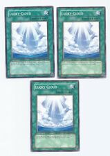 X3 YUGIOH LUCKY CLOUD GLAS-EN050 COMMON