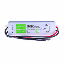 10W 12V Waterproof Electronic LED Driver Transformer For Lamparas Bombilla Focos