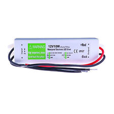 10 Watt Waterproof LED Power Supply Driver Transformer 120 to 12 Volt DC Output