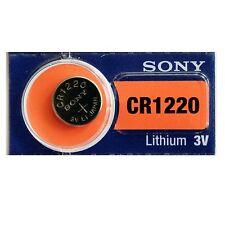 1x Pila Boton Sony CR1220 Batería Litio 3V
