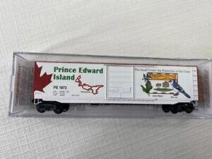 Micro Trains #07700159, Prince Edward Island Provincial Car, 50' Standard Box