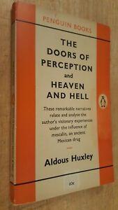 Doors of Perception, Aldous Huxley. 1st 1959 Penguin Edition. Super Rare. Nice.