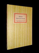 Insel- Bücherei IB 19 [1A] – Balzac – Facino Cane / Sarrasine – 1925 · ÜP 47 Var