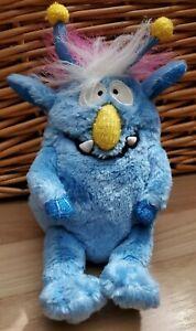 Gemmy Monster Maniacs Blue Plush Sings Mahna Mahna & Happy Birthday RARE