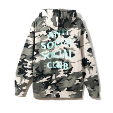 ANTI SOCIAL SOCIAL CLUB MELROSE AVE HOODIE/JACKET SIZE XL CAMO/CAMOUFLAGE