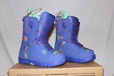 MSRP$ 179.95 Burton Mint Purple Print Snowboard Boots Women's Size 8