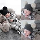 Newborn Infant Baby Boy Girl Bear Jumpsuit Romper Bodysuit Outfit Kids Clothes