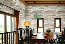 AU SELLER 45cmx10m Roll Brick Pattern Vinyl Furniture Wall Paper Sticker p1399-1